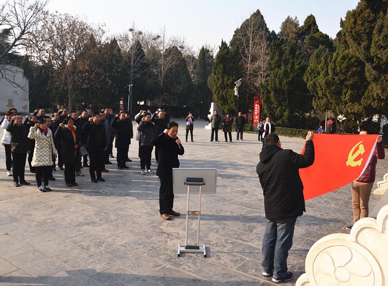 濮阳质检中心党支部赴兰考、西辛庄参观学习